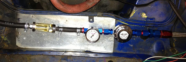 MGB Fuel Pressure Regulator, Kaylee says: Oooooh SHINEY!