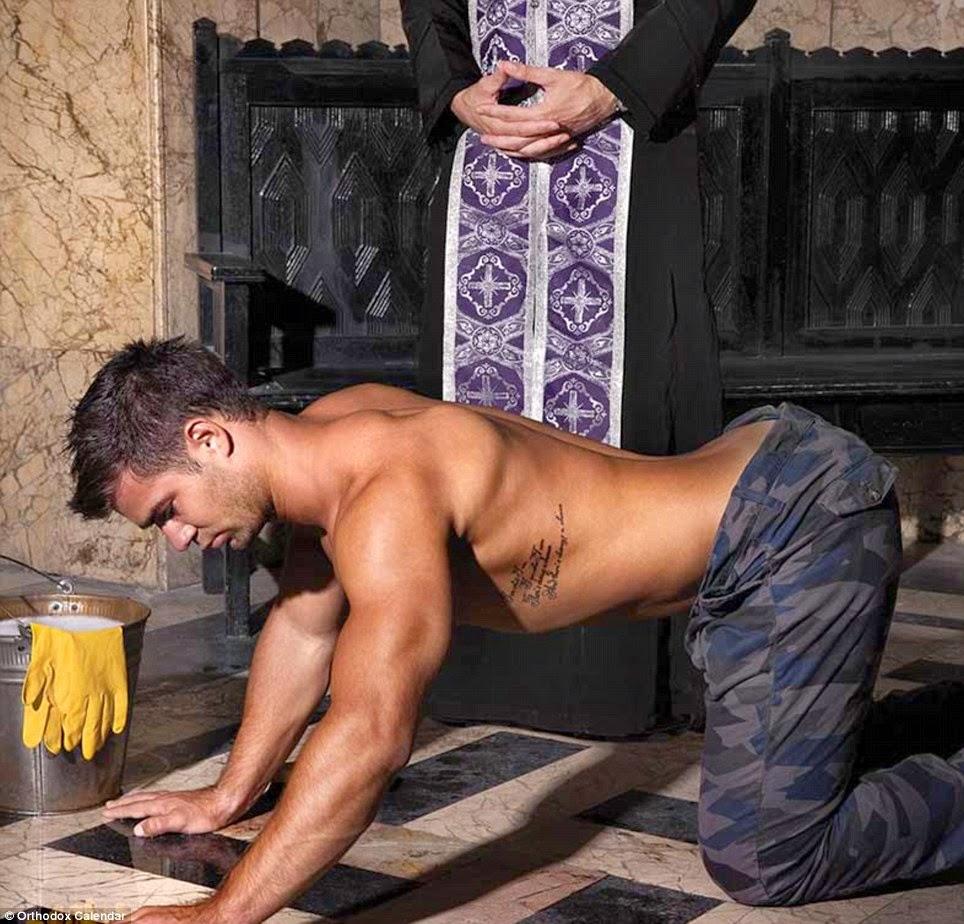 Nude priests videos xxx comic
