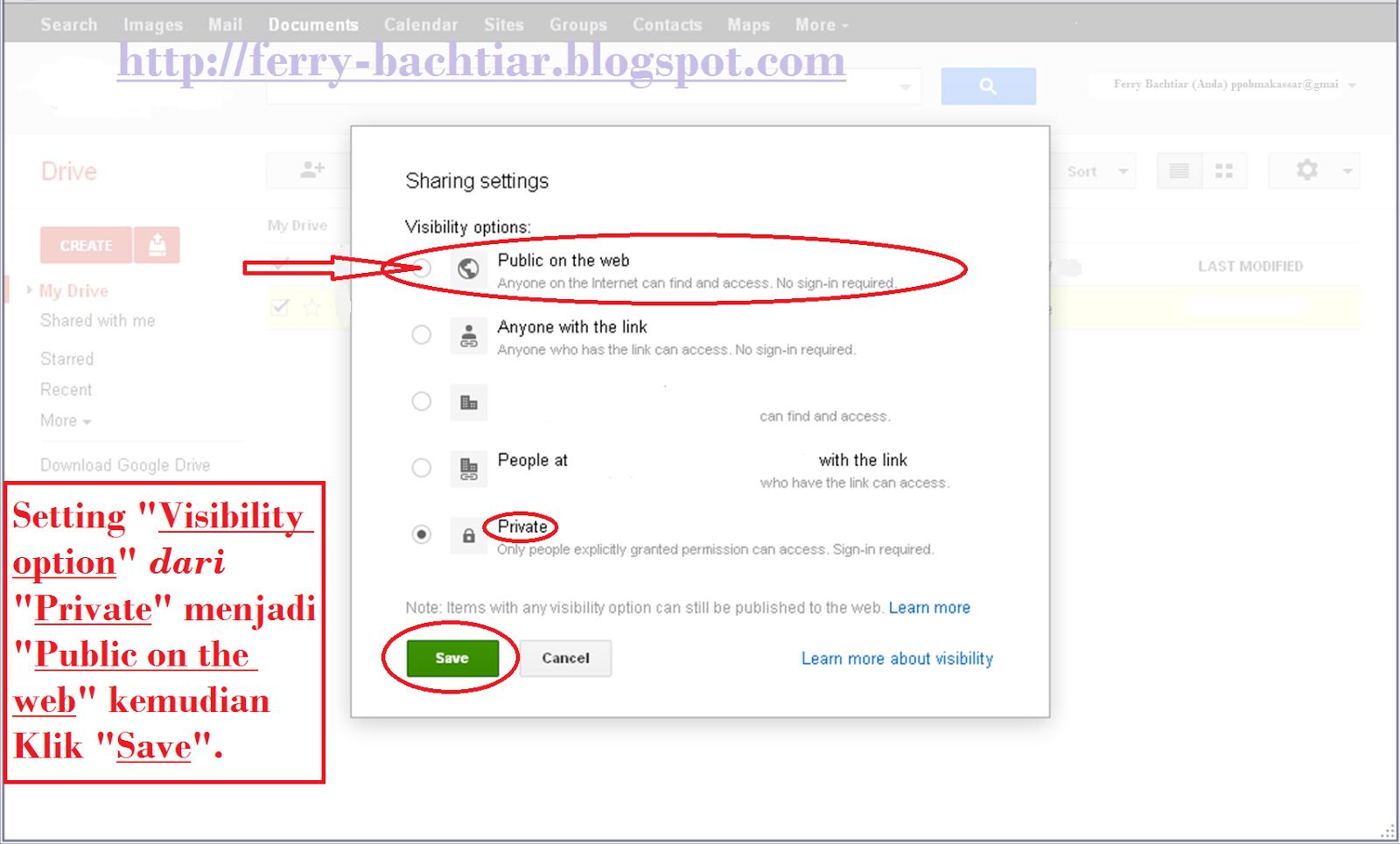 Cara membuat link download pada google drive-7