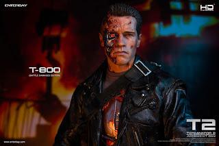 Enterbay 1/4 scale HD Masterpiece Battle-Damaged T-800 from Terminator 2: Judgement Day