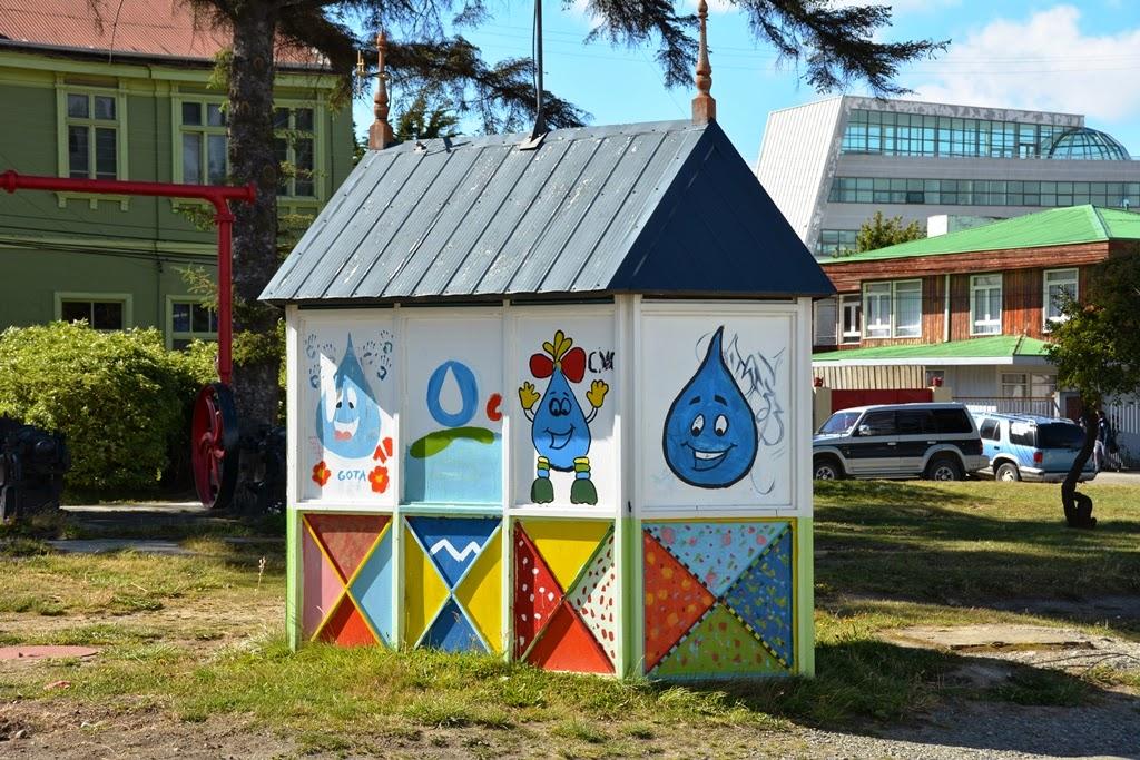 Punta Arenas Chile shed