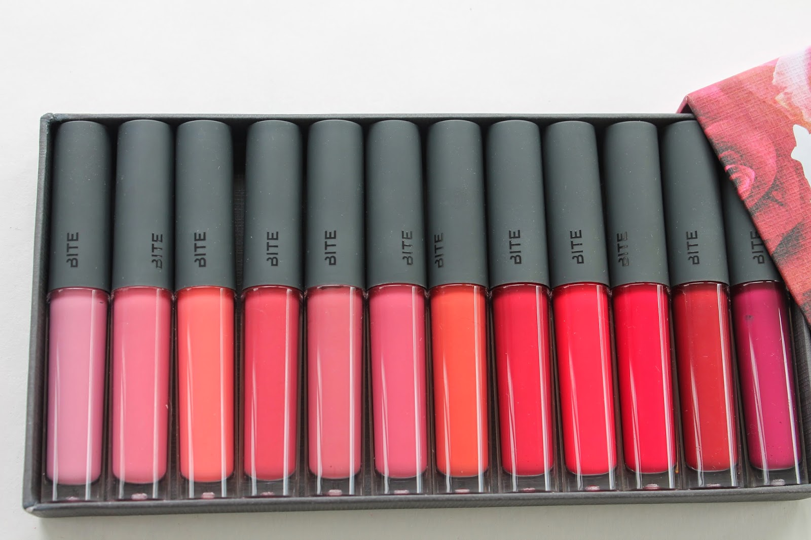 deconstructed rose lip gloss library