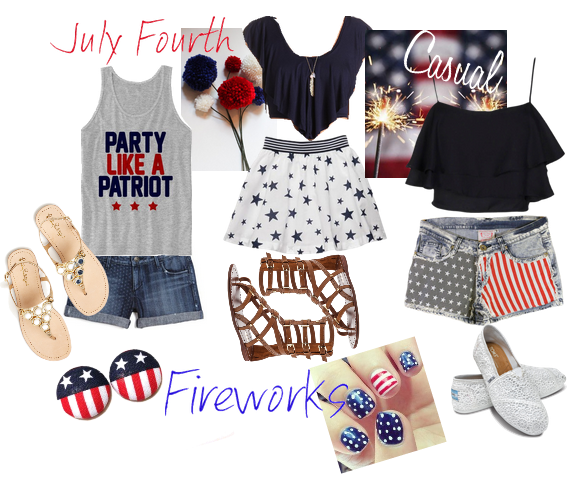 Rhianna's Studio Fourth of July Styles - Outfits
