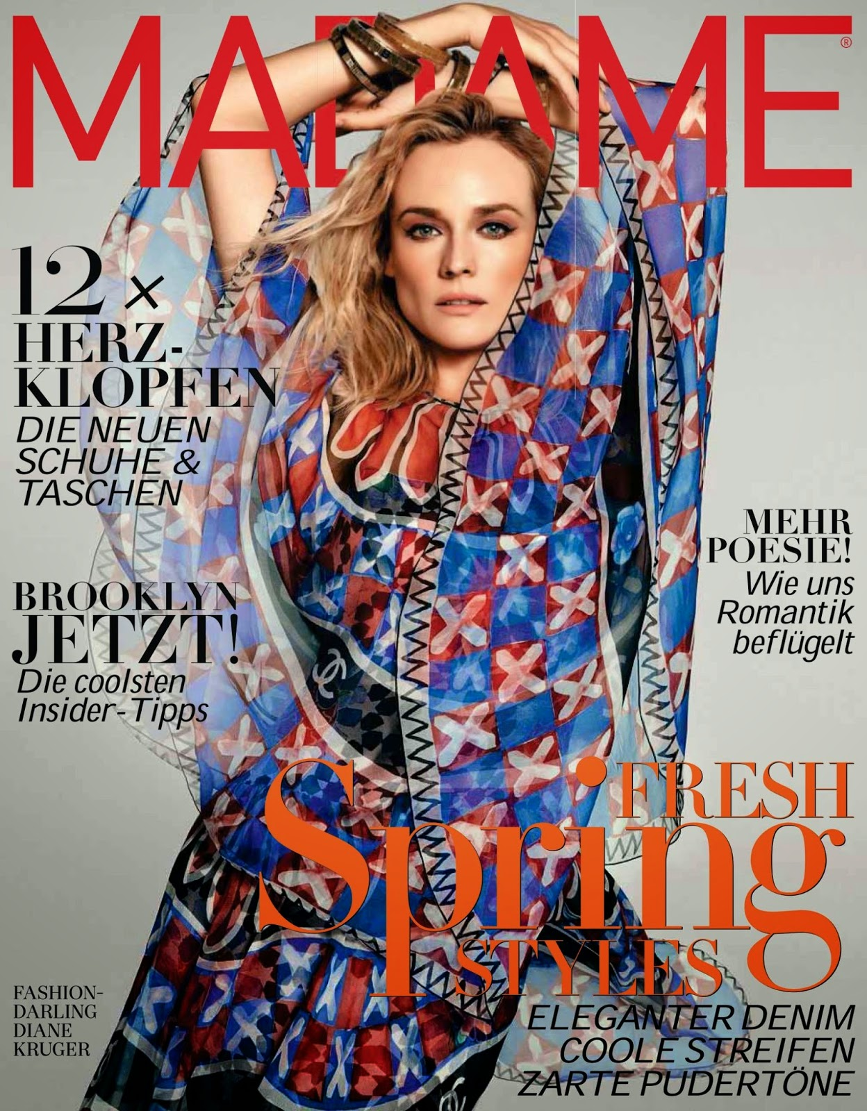 Diane Kruger - Madame, Germany, February 2015
