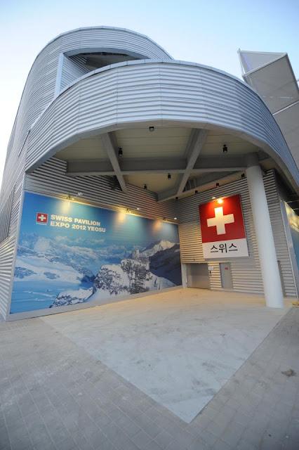 Swiss pavilion - Expo 2012 Yeosu Korea