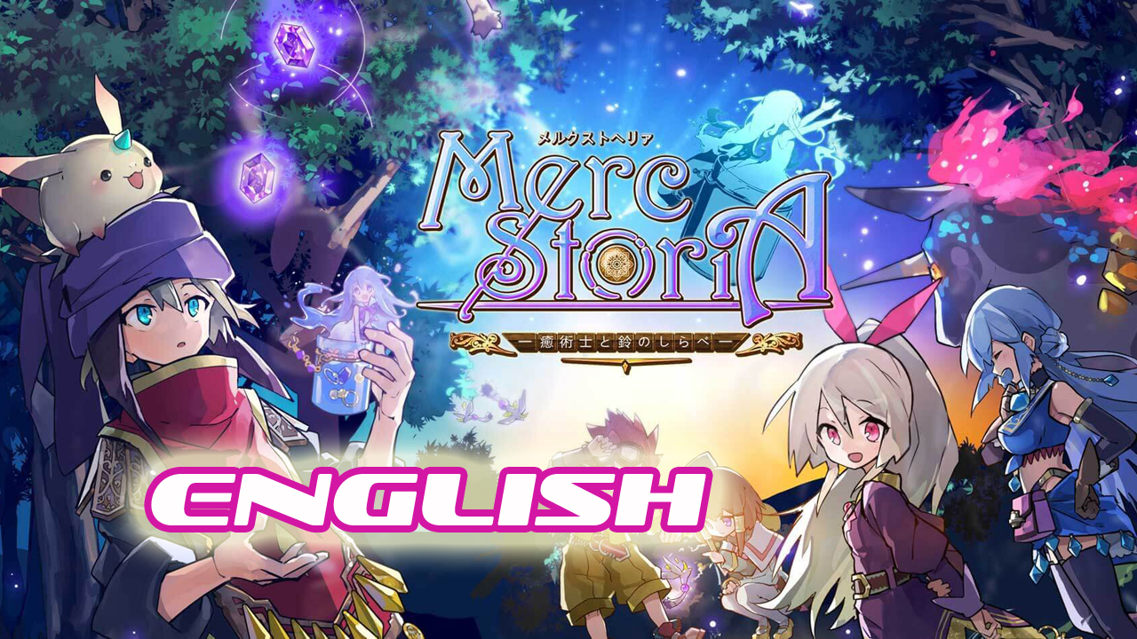 Merc Storia English Gameplay IOS / Android