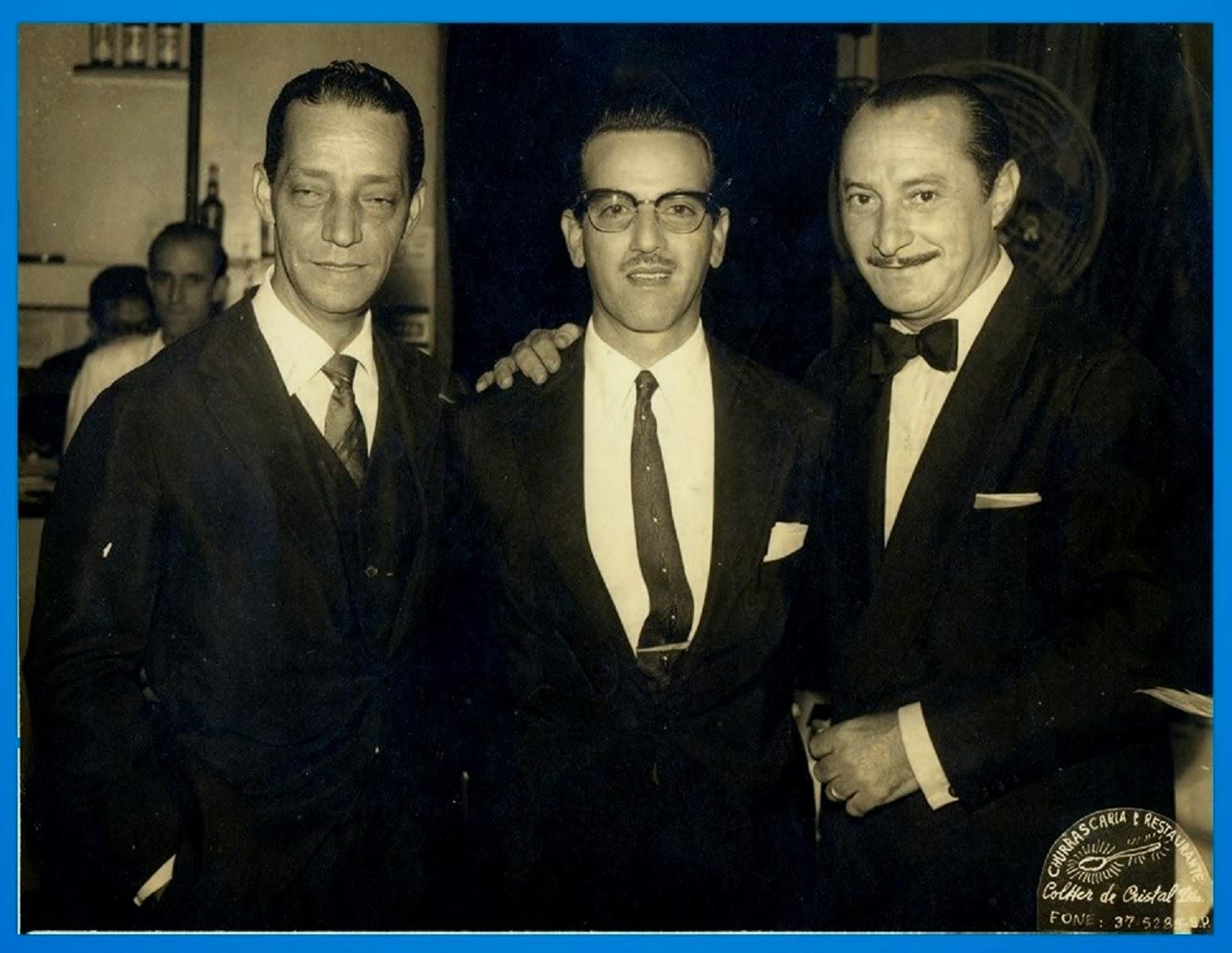 Orlando Silva, Moraes Sarmento e Carlos Galhardo