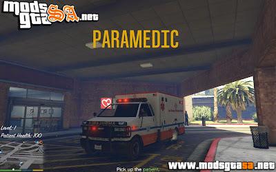 V - Mod Mini Missões de Ambulância para GTA V PC