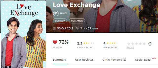 Love Exchange Full Movie 300Mb HD Mp3 3GP Mp4 HD Download