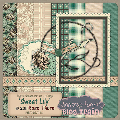 Digiscrap Forum Blog Train