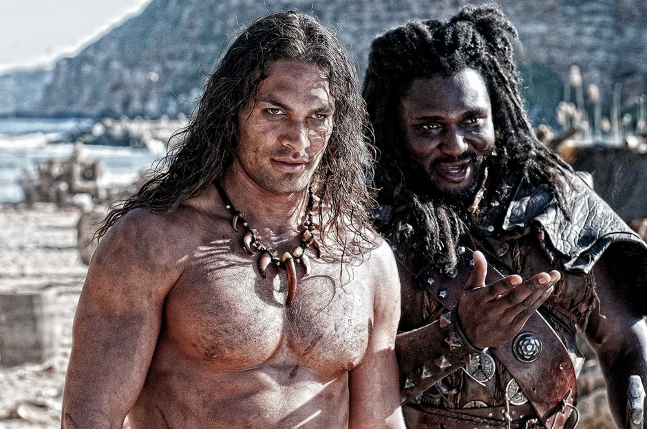 great thing this movie had going for it  was Ron Perlman playing Conan    Jason Momoa Conan Body