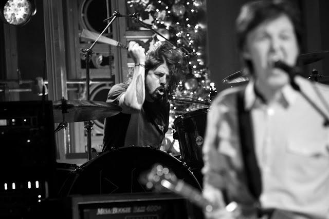 Paul McCartney e Dave Grohl