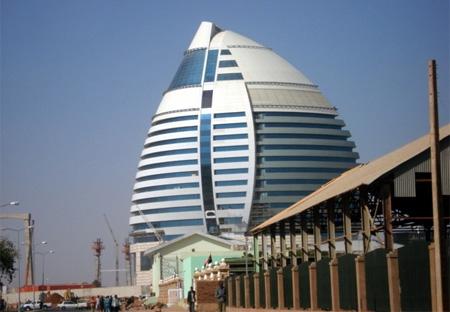 Burj, Al Fateh, Hotel, Khartoum, Sudan, libyan, gadaffi, sultan al fateh, feith, Corinthia Hotel Khartoum, Corinthia, Hotel, Khartoum, awesome, design, architecture, nile, sungai nil, nile river