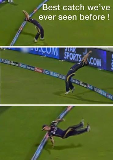 chris lynn's catch