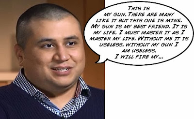 George Zimmerman full metal jacket funny