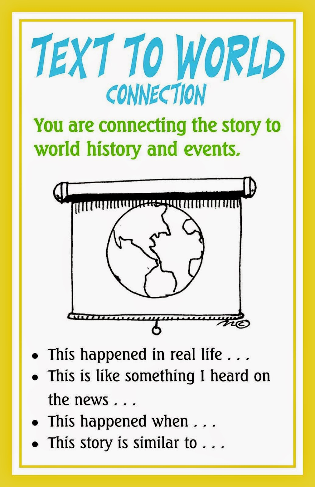 Text to World Connections with The Lorax