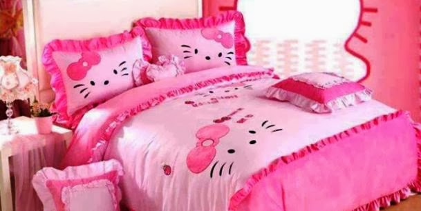 Can inspire you to decorate bedroom decorating ideas with hello kitty
