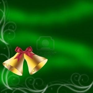 Campanas con fondo verde
