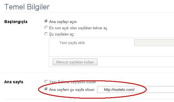 grey Googleı nasıl açılış sayfası yapabilirim?