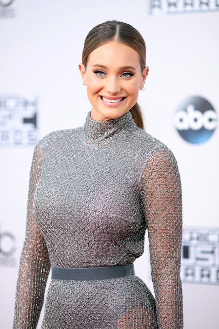 Fashion Model, @ Hannah Davis - American Music Awards in LA