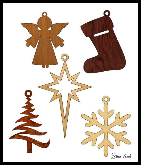 Scrollsaw Workshop Five Simple Christmas Ornament Scroll Saw