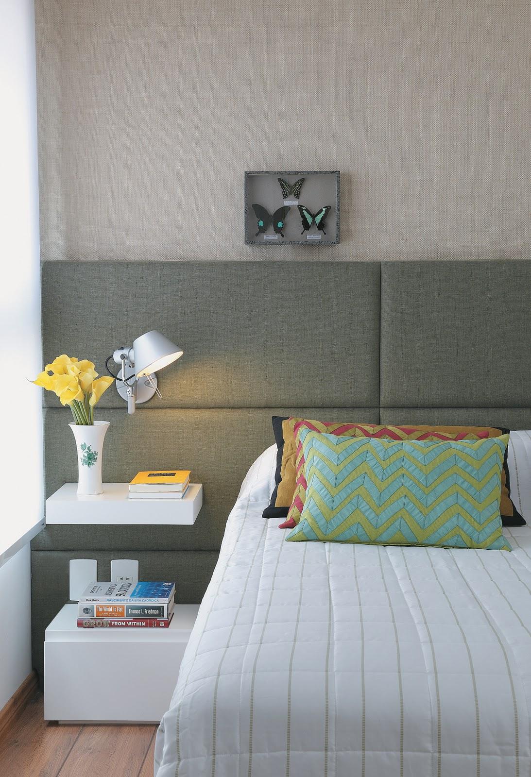 Ideias para decorar e aproveitar a parede da cabeceira #6A483D 1093 1600