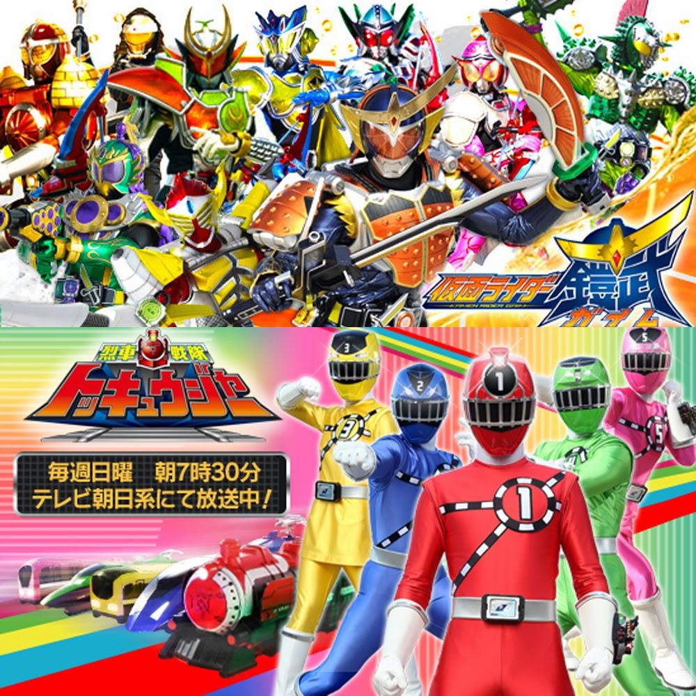 Movie Crossover Kamen Rider Gaim vs Ressha Sentai TōQGer akan tayang Maret nanti di Jepang