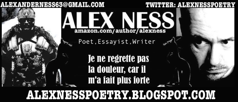 THE POETRY OF ALEX NESS