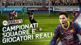 لعبة FIFA 2014 فيفا مجانا للأندرويد