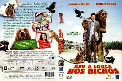 Deu A Louca Nos Bichos DVD Capa