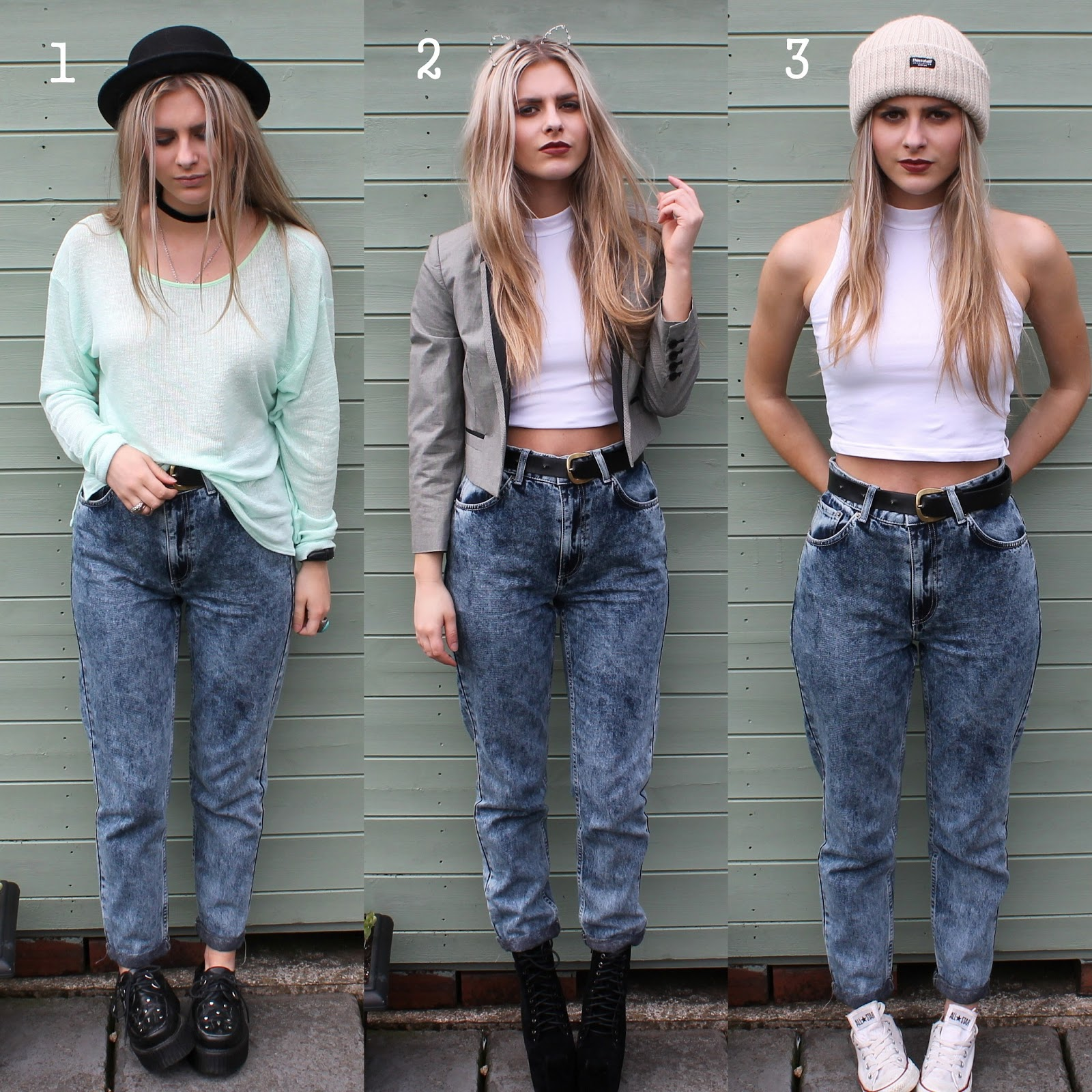 Mom jeans lookbook fashion influx