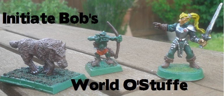 Initiate Bob's World o'stuffe