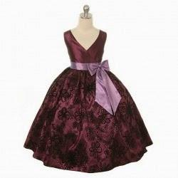 Vestido, Niña de las Flores, Chocolate