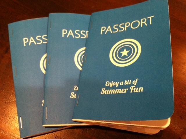 Create a Summer Bucket List / Passport | Your Retail Helper