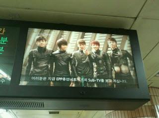 [FOTO] 051111 Publicidad MYNAME en el metro Myname45