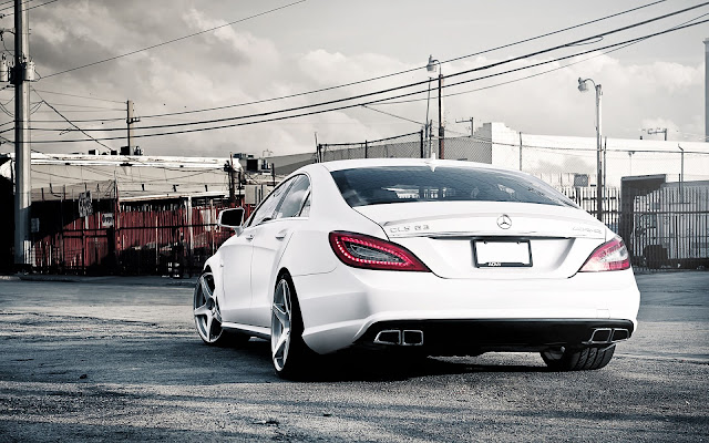 Mercedes Benz White AMG