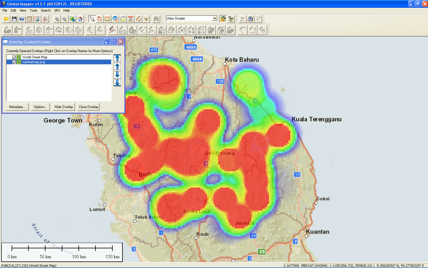 Dominoc925 create geo referenced heat maps google mapplet once the image world file and projection have been exported the heat map can be displayed and overlaid with other geo spatial data in any gis software gumiabroncs Choice Image