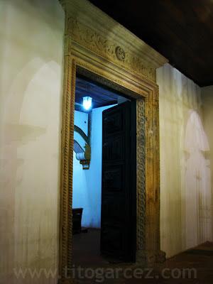 Porta da igreja de São Francisco, em São Cristóvão - Sergipe - Por Tito Garcez