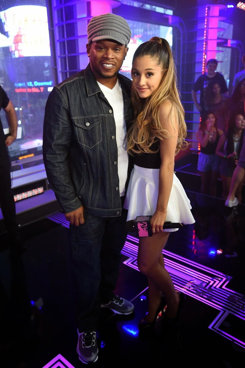 Ariana Grande Cute Photos on the Set of MTV's Total Ariana Live