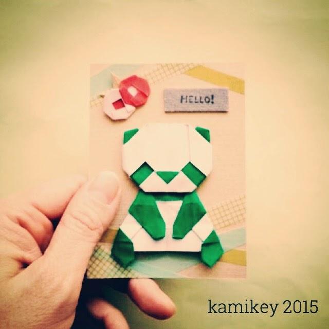 クリスマス 折り紙 パンダ 折り紙 : origamilabo.blogspot.com