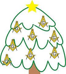 Champaign Christmas Tree