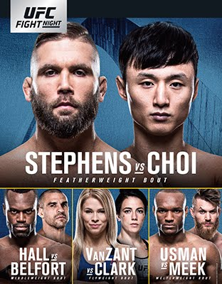 Ufc Fight Night: Stephens vs Choi