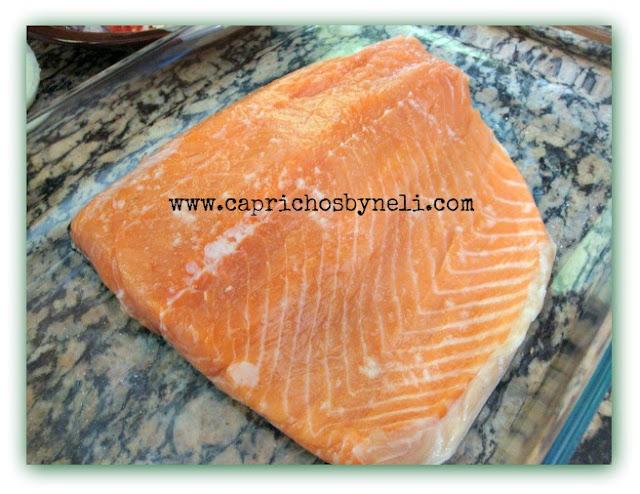 Salmão, salmão ao vinagrete