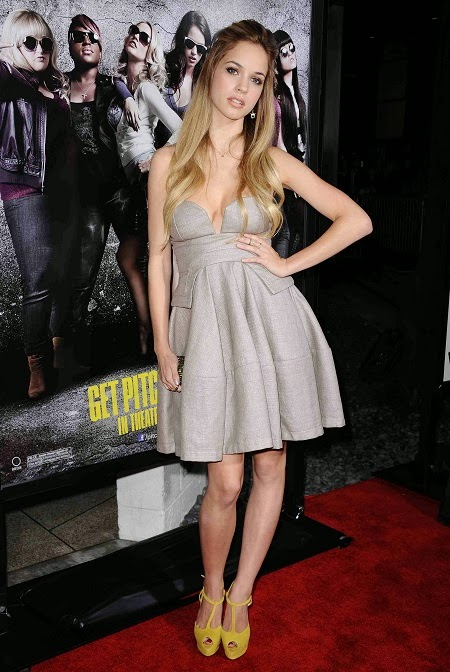 Alexis Knapp   Pitch Perfect Premiere La 2012