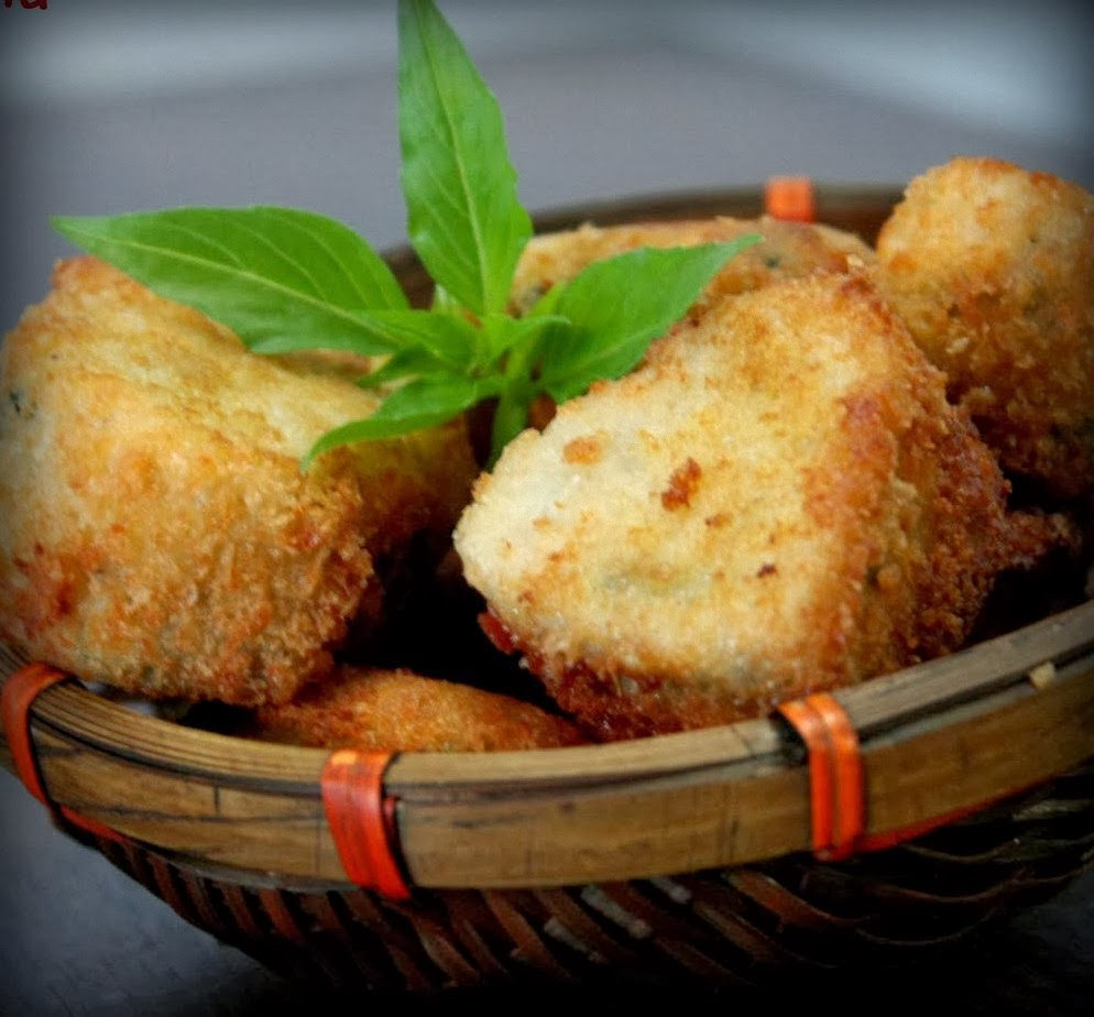 Nugget Ayam Tahu: Resep Nugget Tahu Sayur Kriuk