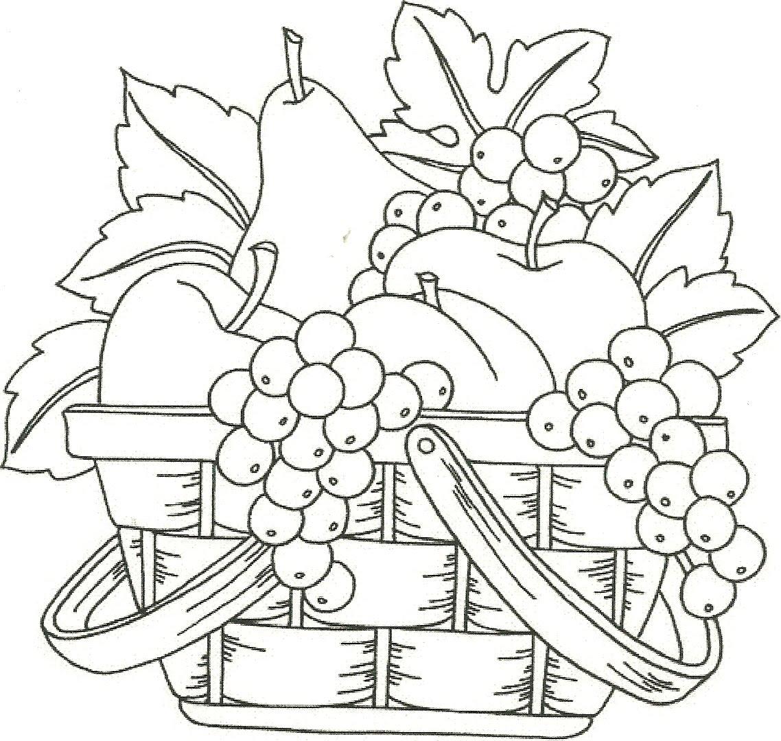blog megadiverso  mas frutas para colorear