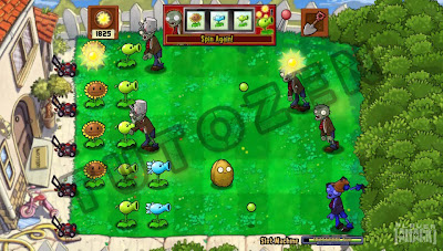 plants vs zombies activated