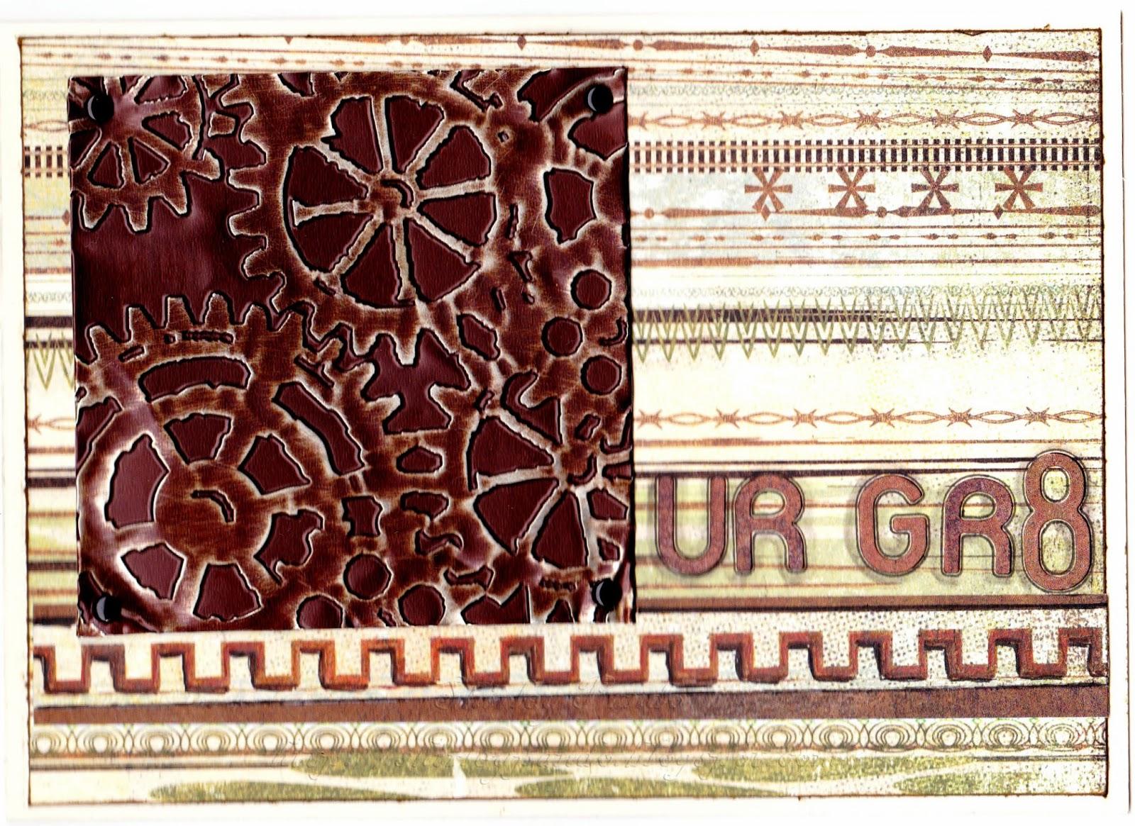 UR GR8 card