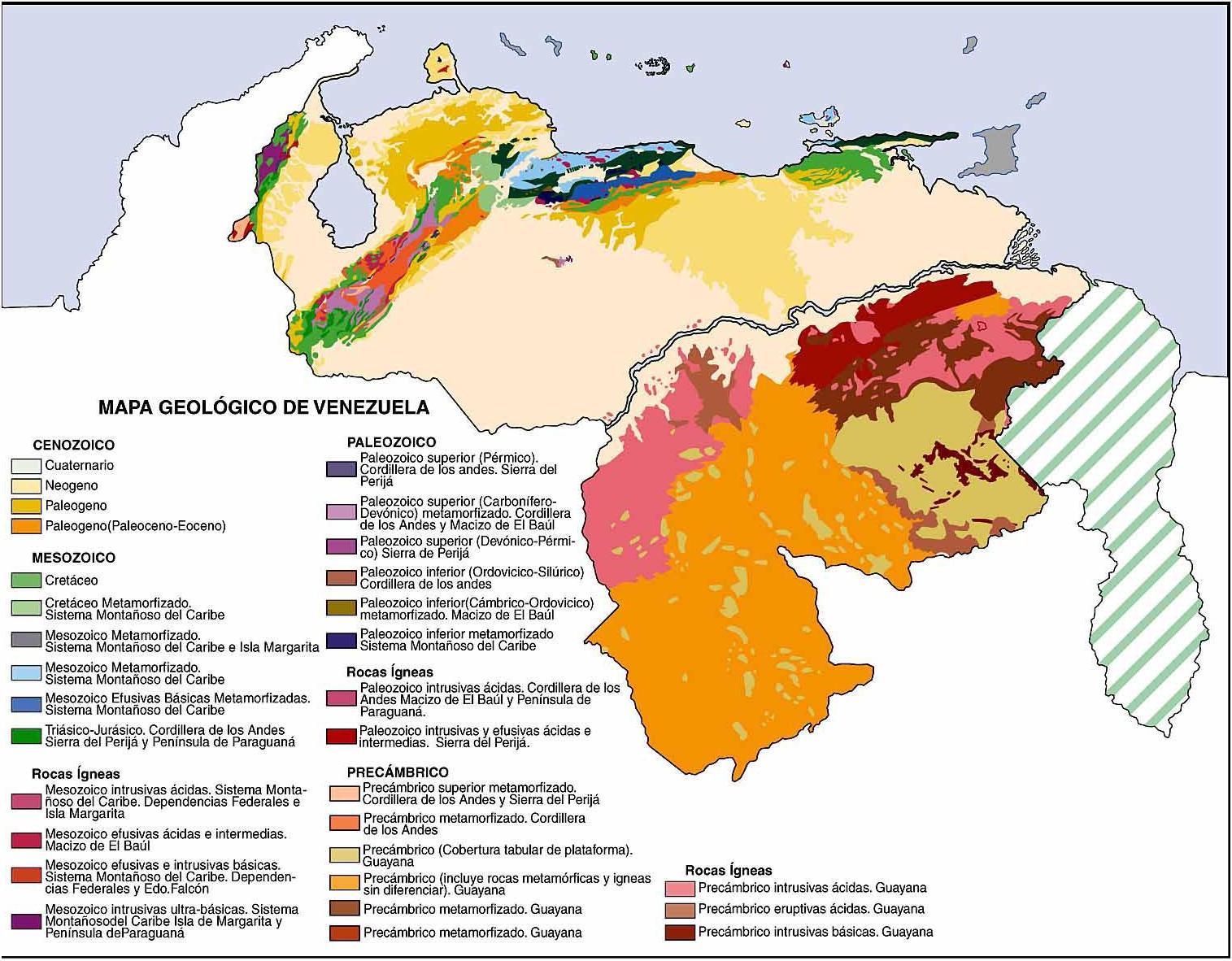 El Planeta Azul: Historia Geológica de Venezuela