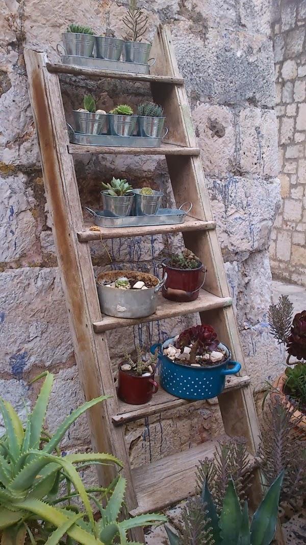 fotos de jardins horizontais : fotos de jardins horizontais:pinterest depois de ver esta escada transformada em estante de